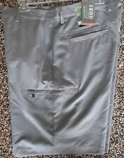NWT Men's Izod XFG Cargo Golf Shorts  Shark Skin Grey 30