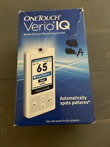One Touch Verio IQ Blood Glucose Monitoring System EXP 05-2014 SEALED NEW