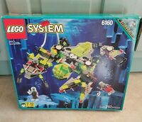 LEGO 6160 System Stingrays Sea Scorpion - Some Pieces Sealed (READ)