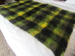 Luxury mohair throw / blanket by Lan Air Cel.