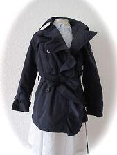 °il gufo° edle(r) Mantel Jacke Trenchcoat blau mit Hut 5A 110 116 NEU