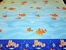 TWIN flat sheet DISNEY Finding Nemo movie fish