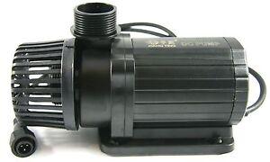 DC Niedervoltpumpe 24 V 9000 l/h Förderpumpe Meerwasserpumpe incl. Controller