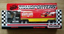 Matchbox Super Star Transporters #44 Slim Jim Racing Team 1:87 Diecast  C23-19