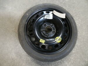 10440 AD 2004-2009 MK5 VAUXHALL ASTRA SPACE SAVER SPARE WHEEL CONTINENTAL TYRE