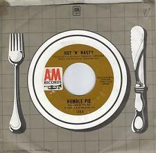 HUMBLE PIE  Hot 'N' Nasty / You're So Good For Me  original 45 from 1972
