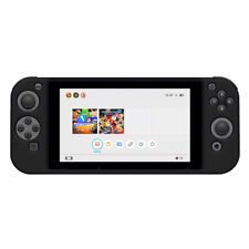AMZER Silicone Full Body Skin Cover Case Protector for Nintendo Switch - Black
