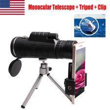 Portable 40X60 Zoom Day & Night Vision Monocular Hd Optics Zoom Telescope Tripod