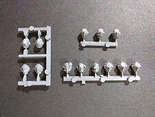 Warhammer 40k Grey Knights Paladin x13 Heads Bits