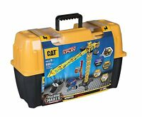 Caterpillar CAT Apprentice Tower 8096 Crane Fork Lift Construction KIT +Tool Box