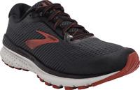 Men's Brooks Adrenaline GTS 20 Running Shoe Black/Ebony/Ketchup
