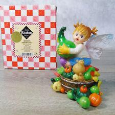 Merveilleux NEW My Little Kitchen Fairies GOURD FAIRIE Figurine Enesco Girl Fairy Wings  NIB!