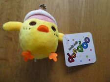 BNWT Made Soft DooDoo Duck with Pink Hat (Fun Loot Bag Party Gift Present)