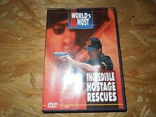 World's Most Incredible Hostage Rescues (DVD, 2000) *****LN*****