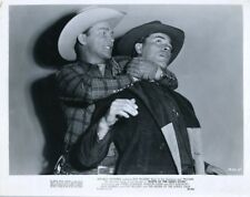 ROY ROGERS KING OF THE COWBOYS & TRIGGER NORTH OF THE GREAT DIVIDE  ORIG X4993