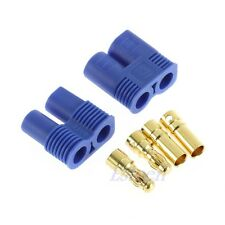 1 Pair EC3 Banana Plug Female Male Bullet Gold Connector For RC ESC LIPO Battery