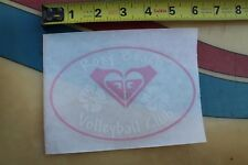 ROXY Beach Volleyball Club Girls Quicksilver Flowers Aloha Surfing STICKER