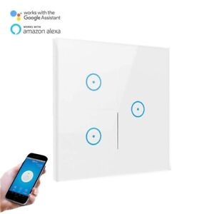 Smart Switch light switch wall touch switch push button interrupteur Voice alexa