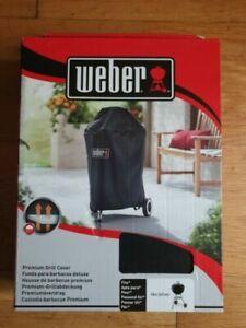 "Weber 7141 Premium Waterproof BBQ Cover Charcoal Kettle 18"" / 47cm"
