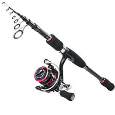 Goture Fishing Rod Reel Combo Spinning Casting Medium Travel Lure Rod 7FT-10FT
