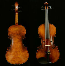Rare 4/4 Violin after Stradivari 1716 Messiah Violin 1-PC Back