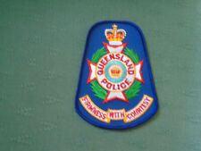 OBSOLETE QUEENSLAND AUSTRALIA POLICE UNIFORM PATCH BADGE FAIRNESS WITH COURTESY