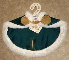 Build a Bear Tinsel Reindeer Forest Green Cape Stuffed Animal Deer Outfit 2017
