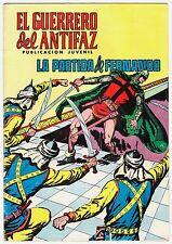 EL GUERRERO DEL ANTIFAZ (Reedición color) nº:  95.  Valenciana, 1972-1978.