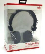 Puma The League Stereo On Ear Headphones Foldable, Detachable Cord Headset