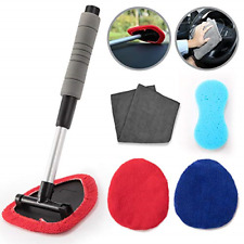 Windshield Cleaning Tool Aoto Cars Vehicles Interior Exterior Extendable Handle