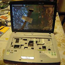 Acer Aspire 5520 scocca completa + CERNIERE LCD CAVO FLAT LCD  WEBCAM