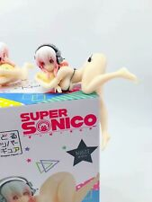 Anime Super Sonico Noodle Stopper Swimsuit Ver. PVC Figure New No Box Black