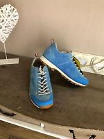 DOLOMITE Cinquantaquattro Sneaker Halbschuhe Leder low blau 41,5 NP 129,95