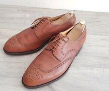 Saint crispin's 1400 $ bespoke iconic wingtip business  uk 10 - 44 men's shoes