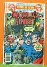 WORLD'S FINEST #253 DC COMIC 1978 (BATMAN SUPERMAN SHAZAM GREEN ARROW CREEPER)