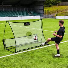 RapidFire Flash II Pop-Up Football Rebounder | Dual Sided Portable Rebound Net