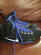 Nike 844362 014 Nike Hyperdunk 2016 Mens Sz 11.5 Black & Blue Basketball Shoes