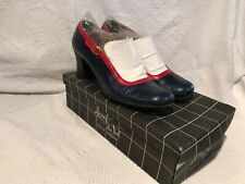 Vintage 1950S Retro Mod Josef Du Val Paris Shoes Pump Womens Ladies 7.5N