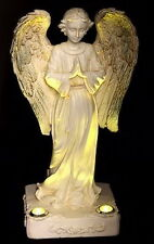 LED Solar Light Angel Statue Home Garden Outdoor Lawn Yard Art Sculptures Decor