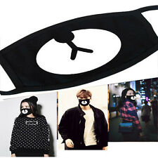 New Unisex Black Cute Bear Cotton Mouth Mask Respirator For Cycling Anti-Dust