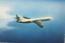 AK Airliner Postcard SAS Caravelle