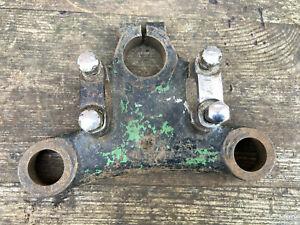 Vintage BSA D7 D10 Bantam top yoke with clamps 53-5105