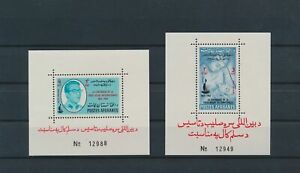 LO42533 Afghanistan centenary red cross sheets MNH