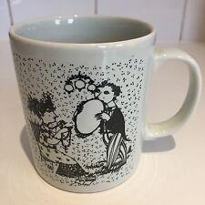 Björn Wiinblad Danimarca tazza tè caffè vintage con piastra SETTEMBRE B