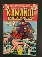 KAMANDI #11 Last Boy On Earth! DC Bronze Age 1973 VERY GOOD+