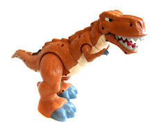 "Enorme Fisher Price Imaginext T Rex Dinosauro 16 ""POSEABLE TOY figura con suono"