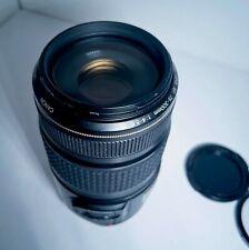 Canon EF 75-300mm f/4.0-5.6 IS USM Lens Image Stabilization Japan W Tiffen UV