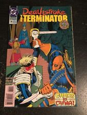 Deathstroke,The Terminator#30 Awesome Condition 7.5(1983) Cool!!