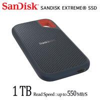 Sandisk Extreme 1TB Externo Estado Sólido Disco USB 3.1 Tipo C SSDE60