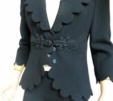 Andrew GN Wool Dress & Jacket Set - Stunning!